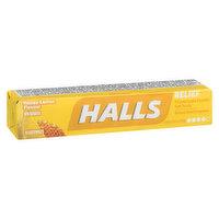 Halls - Cough Lozenges - Honey Lemon