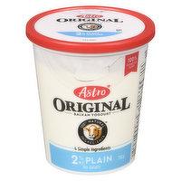Astro Astro - Original Yogurt Plain 2% M.F., 750 Gram