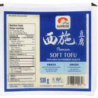 Sunrise - Premium Soft Tofu, 530 Gram