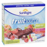 SunRype - Fruit Source Variety Bars, 12 Each