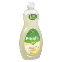 This Ultra Dish Soap is infused with nurturing ingredients to keep hands touchably soft while still providing tough on grease, leaving your dishes sparkling clean.