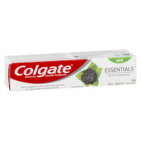 Removes surface stains & impurities for whiter teeth & fresher breath. Contains fluoride to strengthen tooth enamel & prevent cavities. Cooling mint flavor leaves your mouth feeling clean & fresh.