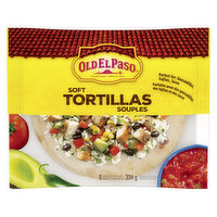 8 Tortillas Perfect for Fajitas, Burritos & Quesadillas