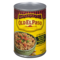 Old El Paso - Refried Beans With Mild Green Chilies, 398 Millilitre