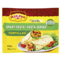 8 Large Tortillas Made with Whole Grain