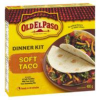 Old El Paso - Soft Taco Dinner Kit, 400 Gram