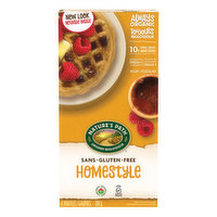 Nature's Path - Organic Waffles Homestlye - Gluten Free
