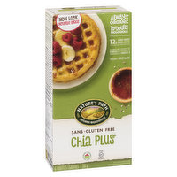 With Quinoa and Amaranth. Gluten Free. Wheat Free. With Whole Grians. 6x210g Waffles.