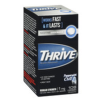 Thrive - Nicotine Peppermint Chill Lozenges 1mg, 108 Each