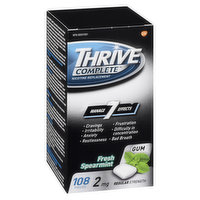 7 Symptom Relief: Irritability, Anxiety Restless, Frustration, Fights Cravings, Whitens Teeth & Freshens Breath.