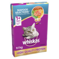 For Adult Cats. All Essential Vitamins & Nutrients. 100% Complete & Balanced.