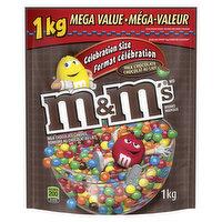 M&M's - Milk Chocolate Candies Celebration Size, 1 Kilogram