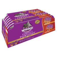 12 Packs, 2 Servings per Pack. Pate in Natural Juices. 6 Chicken and 6 Beef Entree.