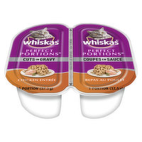 Whiskas Whiskas - Perfect Portions Cuts In Gravy - Chicken Entree, 2 Each