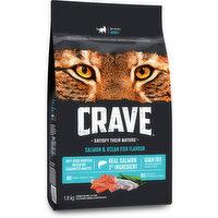 Crave Crave - Dry Cat Food - Salmon & Ocean Fish, 1.8 Kilogram