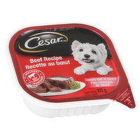 Cesar Cesar - Entrees Dog Food with Beef, 100 Gram