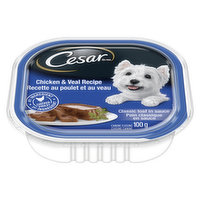 Cesar Cesar - Entrees Dog Food with Chicken & Veal, 100 Gram