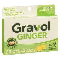 Gravol - Chewable Ginger Lozenges Non Drowsy