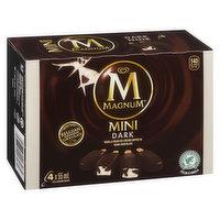 Magnum Magnum - Mini Dark Cocoa Ice Cream Bars, 4 Each