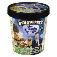Ben & Jerry's - Ice Cream- The Tonight Dough, 500 Millilitre