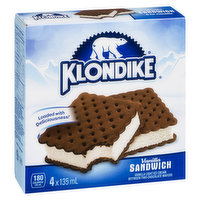 4x135ml  Vanilla Light Ice Cream between Two Chocolate Wafers. 180 Calories per Sandwich.