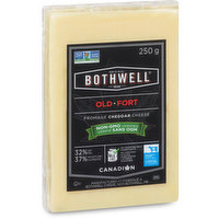 Revered by seasoned cheese fans, this cheddar is aged for almost a year, giving it a sharp, nutty flavour and a distinctive bold aftertaste. Non-GMO Project Verified Old White Cheddar