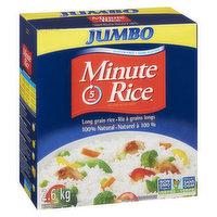 Minute Rice - Jumbo Instant Long Grain Rice