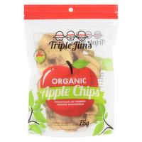 Triple Jims Triple Jims - Organic Apple Chips, 75 Gram