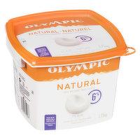 Olympic Olympic - Natural Yogurt 6% M.F. - Plain, 1.75 Kilogram
