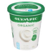 Olympic - Organic Yogurt 0% M.F. - Plain, 650 Gram