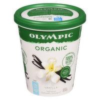 Olympic - Organic Yogurt 0% M.F. - Vanilla, 650 Gram
