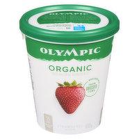 Olympic - Organic Yogurt 2.8% M.F. - Strawberry, 650 Gram
