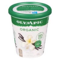 Olympic - Organic Yogurt 3.2% M.F. - Vanilla, 650 Gram
