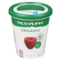 Olympic - Organic Yogurt 2.8% M.F. - Raspberry, 650 Gram