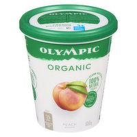 Olympic - Organic Yogurt 2.8% M.F. - Peach, 650 Gram