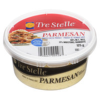 Tre Stelle - Grated Parmesan Cheese, 125 Gram