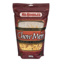 Mr. Noodles Steam Fried Chinese Style Noodles are Tasty and Easy-to-Prepare.  Just Boil in Water for 4 Minutes!