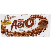 Nestle - Aero Milk Chocolate Bubble Bars, 4 Each