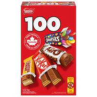 Nestle - Mini Chocolate Treat Bars, 100 Each