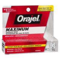 Orajel - Maximum Strength Toothache Pain Relief Gel, 9.5 Gram