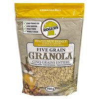 Zero Trans Fat, Low Sodium, High Fibre, Whole Grain.