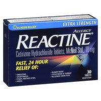 Reactine - Allergy Extra Strength Non Drowsy - 10mg, 30 Each