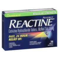 Reactine - Allergy Non Drowsy Regular Strength - 5mg, 36 Each