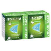 Nicorette - Nicotine Polacrilex Gum 2mg - Ultra Fresh Mint