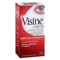 Visine Visine - Red Eye Drops - Original, 15 Millilitre