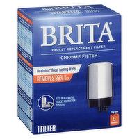 Brita - Replacement Filter - Faucet Mount, 1 Each