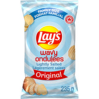 Lays - Wavy Lghtly Salted Chips, 235 Gram