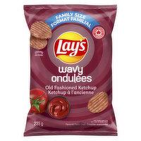 Lays - Wavy Old Fashion Ketchup Chips, 235 Gram