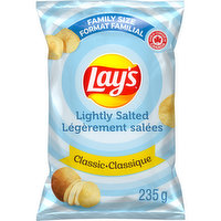 Lays - Potato Chips - Classic Lightly Salted, 235 Gram