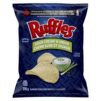 Ruffles - Ruffles Sour Cream And Onion Chips